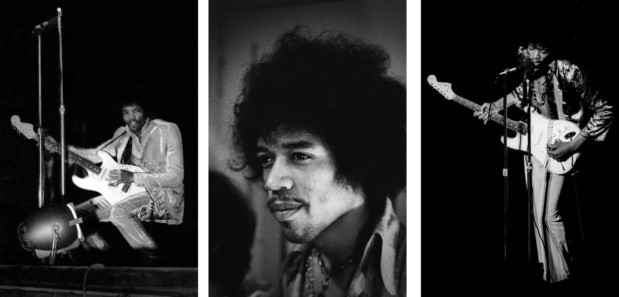 ... the Gigs About Miki Slingsby Technical Info Jimi Hendrix Print Sales